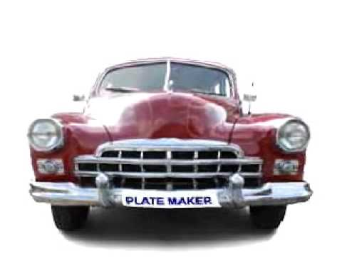 Plate Maker Canada on Directory4Cars.com