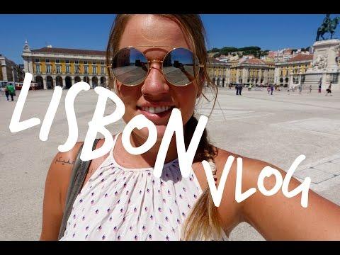 Lisbon Vlog || plans change, flea market, city and beach