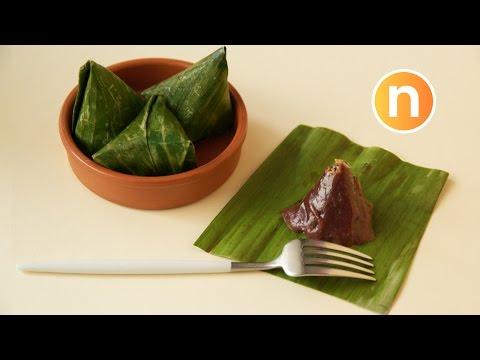 Black Glutinous Rice Kuih Koci | Kue Bugis Ketan Hitam | Kuih Koci Pulut Hitam [Nyonya Cooking]