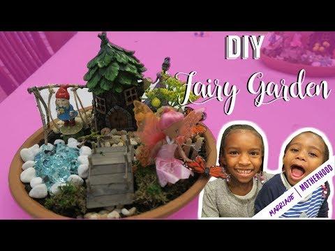 DIY FAIRY GARDEN - Fun kid friendly Spring Time Activity 🌸🧚