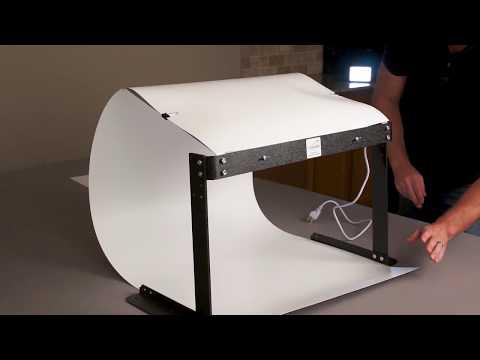 MyStudio PS5LED Lightbox Photo Studio Setup and Assembly