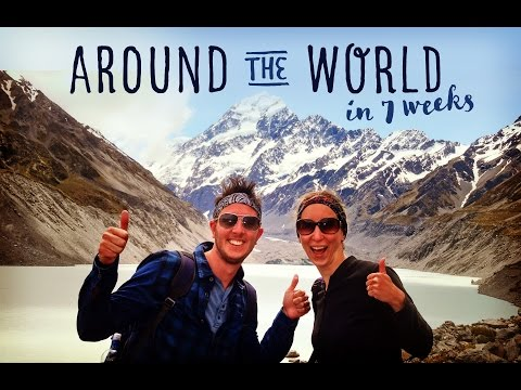 Backpacking Travel Video Diary Singapore Australia New Zealand Fiji LA