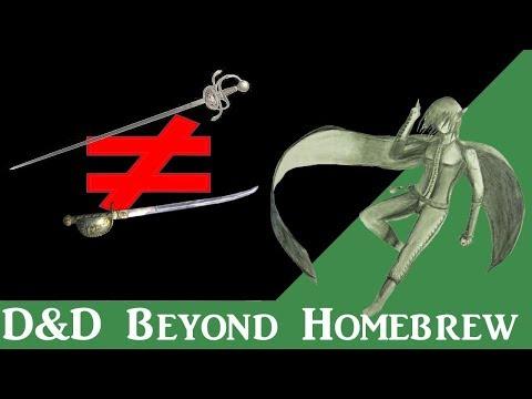 D&D 5e Homebrew | Reviewing D&D Beyond Homebrew Magic Items