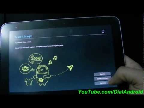 Install Official ICS Android 4.0.4 on Galaxy Tab 8.9 P7300
