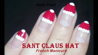 Santa Claus Hat Nail Art Videos Ytube Tv