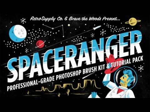 SpaceRanger Brush & Tutorial Pack for Photoshop | Product Tour
