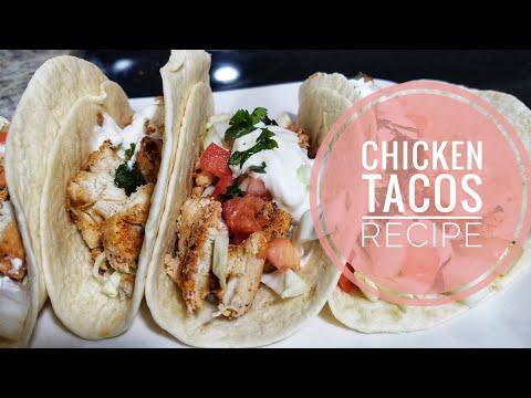 Homemade Chicken Tacos Recipe