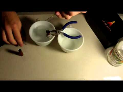 How to clean an atomizer with vinegar