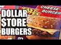 $1 DOLLAR STORE BURGER Taste Test