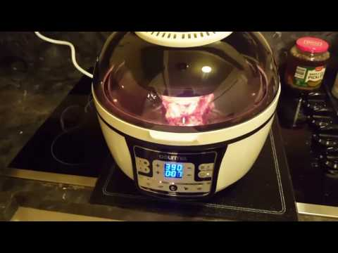 Prime rib-eye roast cooked in airfryer gourmia # GTA  2500