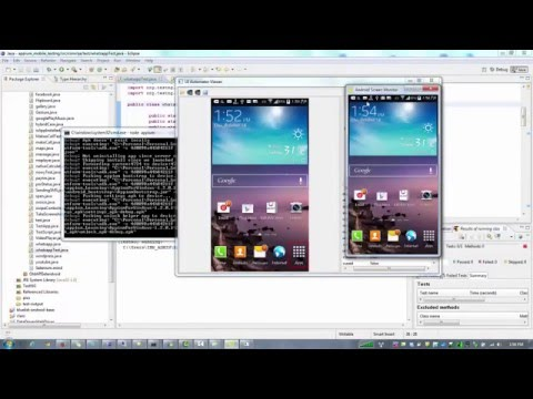 Appium Tutorial- Whatsapp test on android