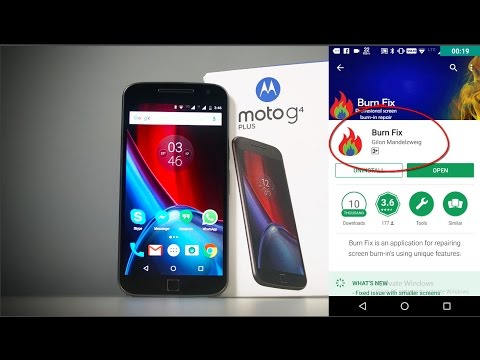 Moto G4 Plus Screen Burn Issue Solution (Fix) (Very Useful)