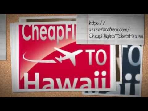 ★GUARANTEE★ Cheap Flights From-to Hawaii ..Airline Tickets Cheapest