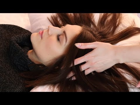 Playing with Lovely Hair and Positive Affirmations (ASMR soft spoken/brush sounds/hair sounds)