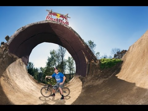 Building a BMX dirt loop with Mike