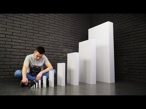 Amazing Domino Chain Reaction