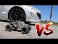 Sport Vs Távirányitós Autó, Melyik Gyorsabb ?