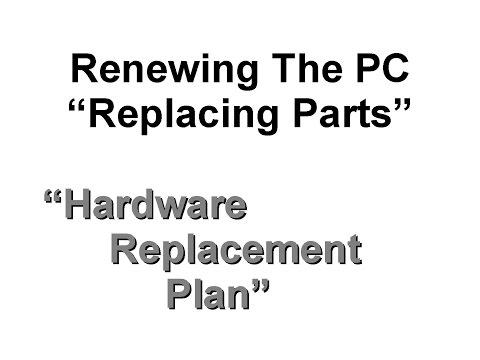 Step 14 - Renewing a PC