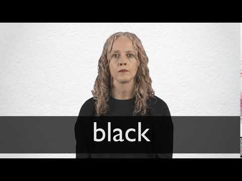 How to pronounce BLACK in British English