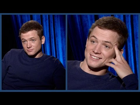 Why TARON EGERTON is filled with FEAR and Worry