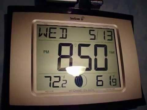 Skyscan Atomic Digital Clock 001