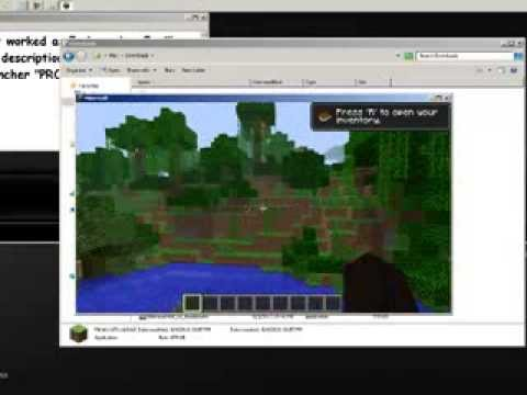 MineCraft Cracked Launcher [1.5.2]