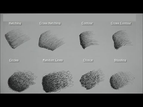 8 Basic Pen/Pencil strokes | Beginners Introduction
