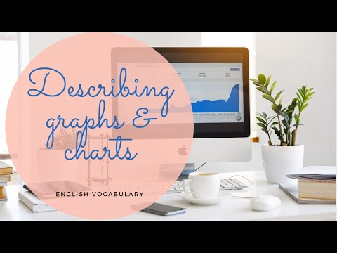 Describing Graphs & Charts-Adjectives & Adverbs/ IELTS  writing test