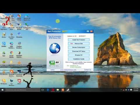 How to install NPAV Total Security Net protector Antivirus 2018 on Windows 7/8/10 Hindi Tutorial