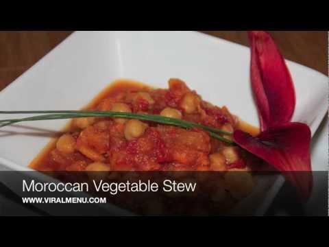 Moroccan Vegetable Stew - Viral Menu