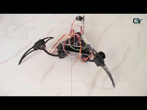 Build A Tripod Using Arduino and Servo Motors - 3 Legged Robot