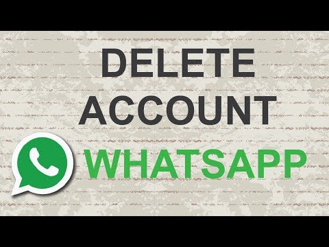 मोबाइल से Whats App Account कैसे डिलिट करे ?How to delete whatsapp account permanently without phone