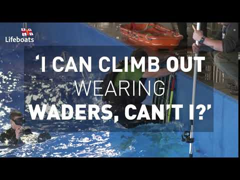 'I Can Climb Out Wearing Waders, Can't I?'