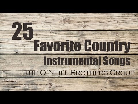 25 Favorite Country Instrumental Songs