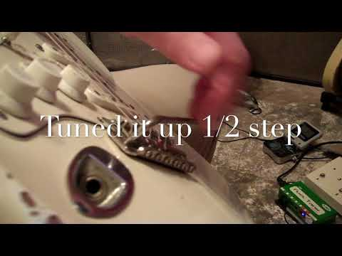 Keeping Your Strat Tremolo In Tune, Part III - Floating IS BETTER