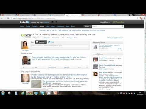 How to leave a group on LinkedIn