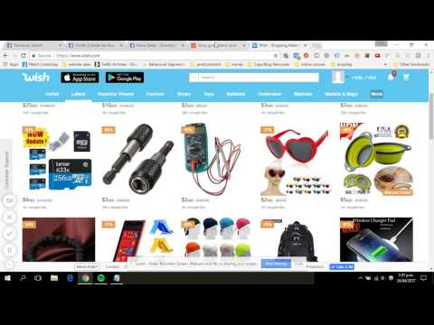 How to find viral products to sell on Facebook using Drop Shipping Shopify, Aliexpress and Oberlo