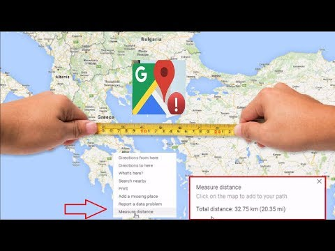 How to Measure Distance in Google Maps Easily