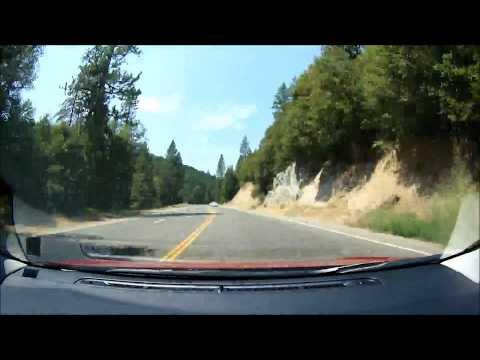 South Lake Tahoe - Sacramento - San Jose: Road Time Lapse Video - 4 hours in 8 minutes