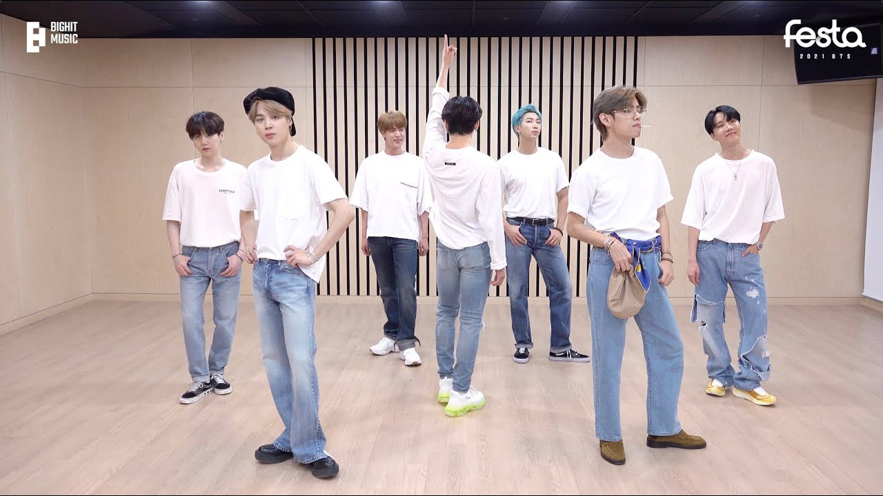 [CHOREOGRAPHY] BTS (방탄소년단) 'Dynamite' Dance Practice (Cute & Lovely ver.) #2021BTSFESTA