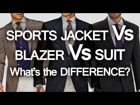 Sports Jacket - Blazer - Suit - What's The Difference? | 3 Classic Menswear Pieces