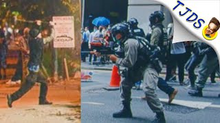 Corporate News Loves Hong Kong Protestors & Hates American Protesters. w/Chris Hedges