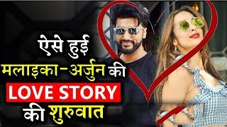 This Is How Malaika Arora- Arjun Kapoor's Love Story Begins!