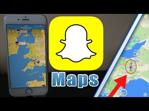 How To Get Snapchat Maps - Maps In Snapchat - Snapchat Find My Friends