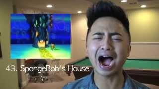52 SpongeBob Impressions | K.RED TV