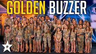 Sensational Dance Crew Get Tyra Banks GOLDEN BUZZER on America