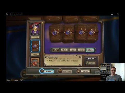 Hearthstone packs with Amazon Coins