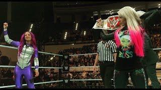 Sasha Banks Vs. Alexa Bliss Abu Dhabi - WWE 2K18