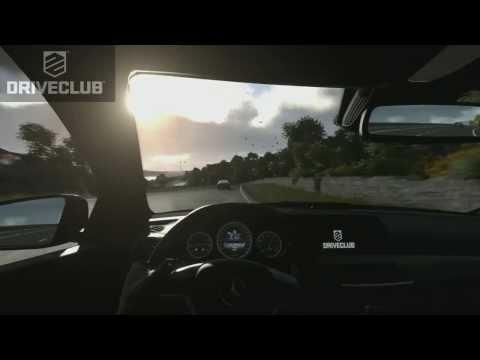Driveclub (PS4) Vs. Forza 5 (Xbox One) Direct Feed Cockpit Comparison [1080p HD]