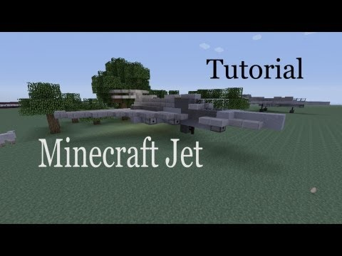 Minecraft Jet Tutorial